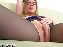 British Mature MILF Pantyhose