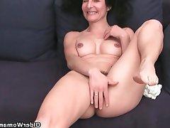 Mature French Granny MILF