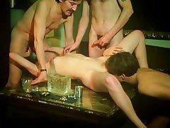 Group Sex Hairy Nerd Swinger Vintage