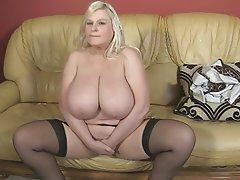 BBW Big Boobs British Mature