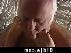 Blonde Blowjob Mature Old and Young Teen