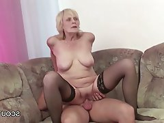Cumshot Hardcore MILF Old and Young Teen