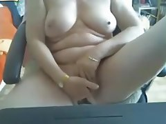 Brazil Granny Mature Masturbation Webcam