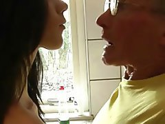 Blowjob Cumshot Old and Young Teen Swallow