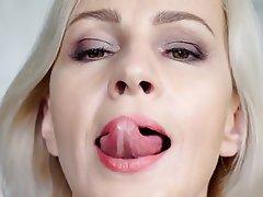 Masturbation Mature MILF Russian Saggy Tits