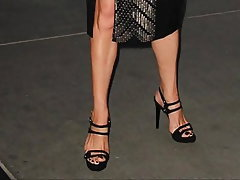 Babe Brunette British Foot Fetish High Heels