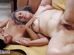 Amateur BBW Mature Granny Compilation