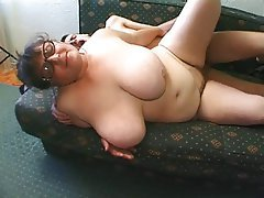 BBW Big Boobs Granny Mature