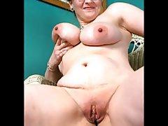 Amateur BBW Close Up Granny Mature