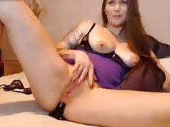 Webcam Mature MILF Masturbation