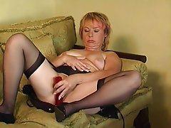 Mature MILF Pantyhose Stockings