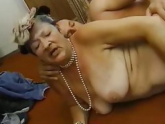 Granny Interracial Mature Old and Young