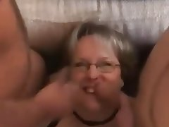 BBW Big Boobs Gangbang MILF Old and Young