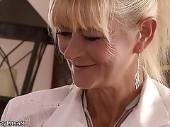 Granny Mature Old and Young Teen Threesome